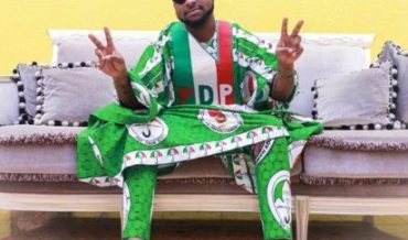Nigeria's Davido Gets On The Political Campaign Trail